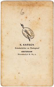 Karsen logo zwart