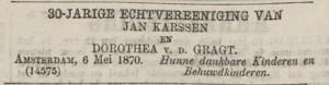 Advertentie Algemeen Handelsblad 7 mei 1870