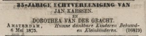 Advertentie Algemeen Handelsblad 6 mei 1875