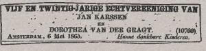 Centraal Bureau voor Genealogie - Familieadvertenties