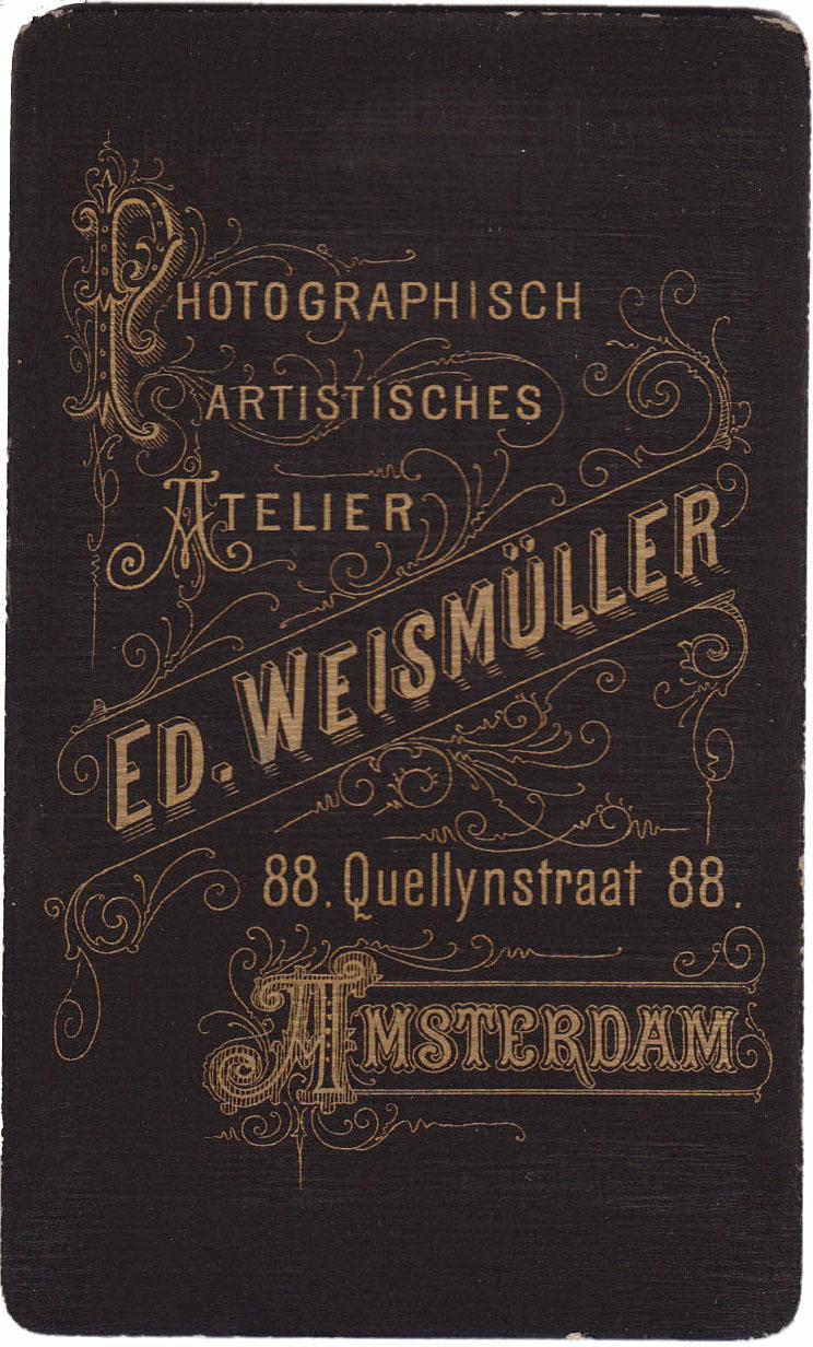 Photographisch Artistisches Atelier Weismuller