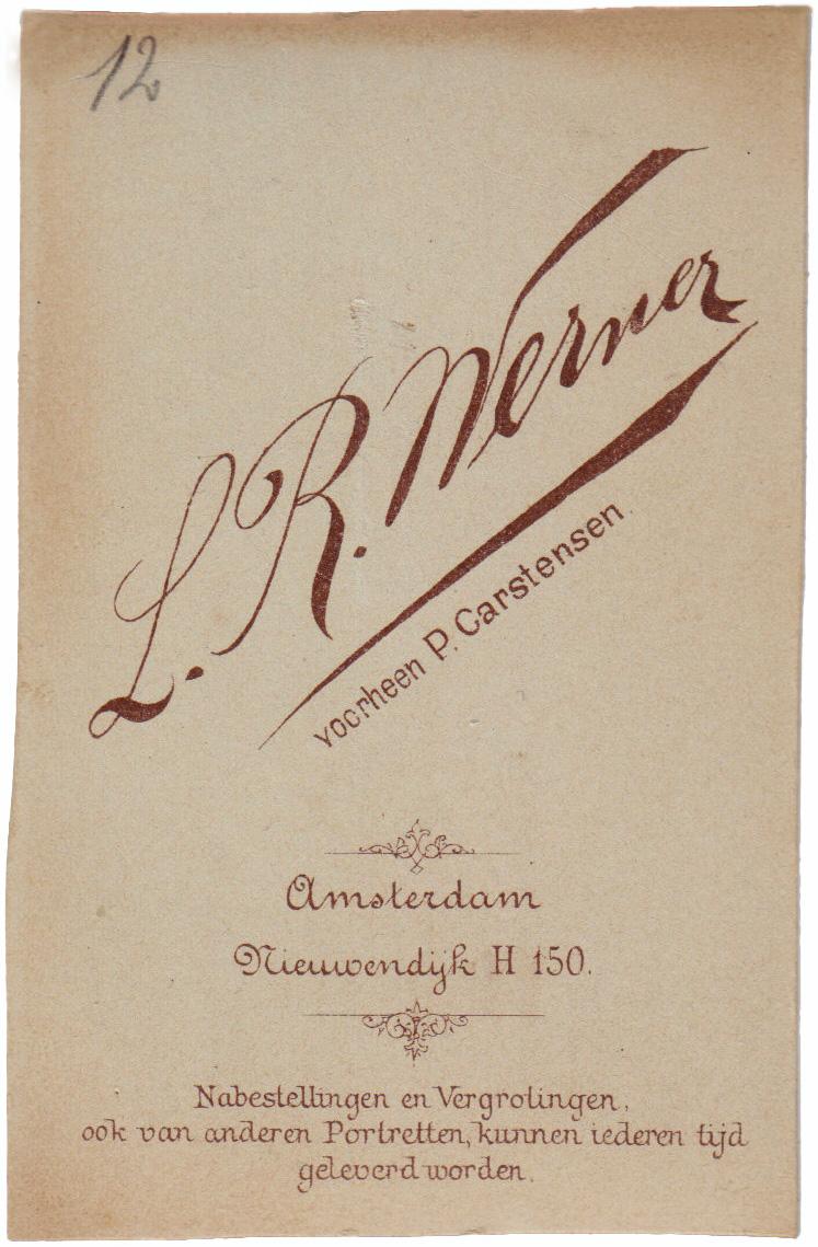 Werner voorheen Carstensen